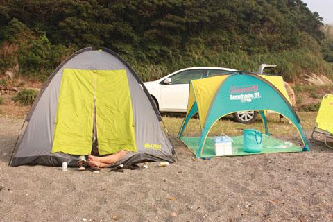 BBQのテント